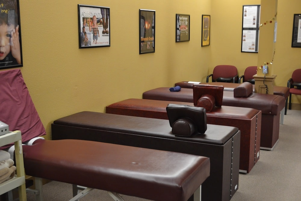 Image of the Treatment Room with Treatment Tables at the Freedom Health Centers of McKinney Texas