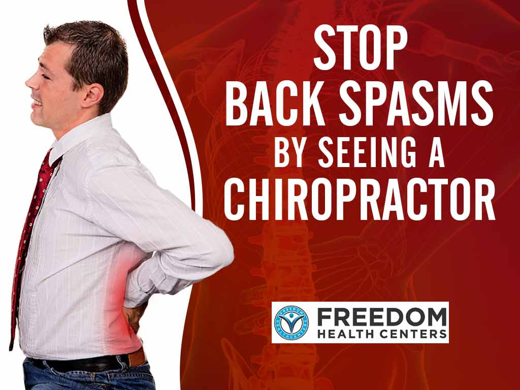 Stop Lower Back Spasms by Seeing a Chiropractor